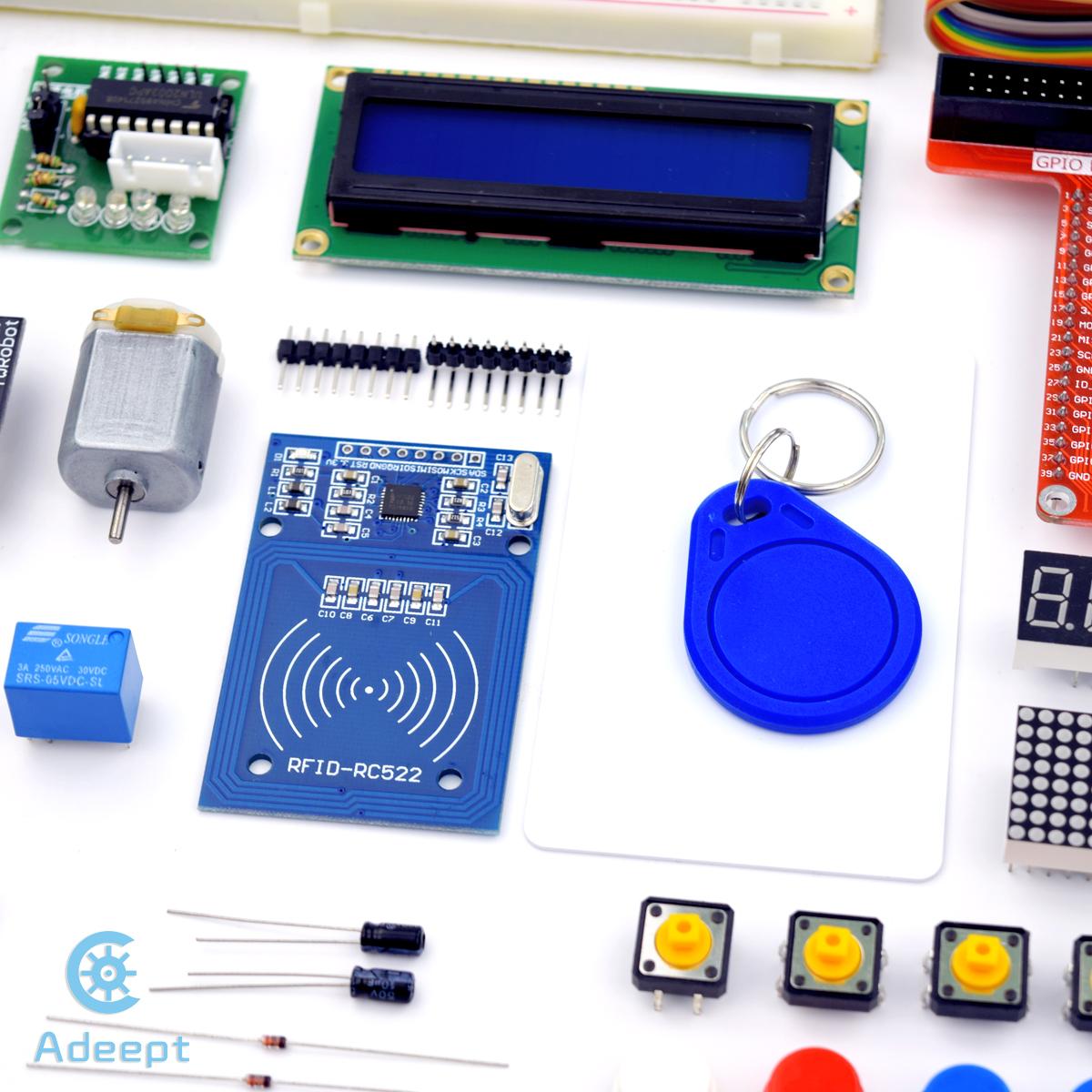 Adeept Rfid Starter Kit For Raspberry Pi 3 2 Model B B