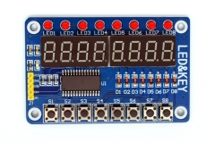 Adeept TM1638-based Segment Display Button Module for Arduino & Raspberry Pi