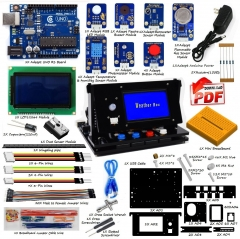Adeept Indoor Environment Monitoring Kit | Weather Box Kit | Starter Kit for Arduino UNO R3 with PDF Guidebook and Code