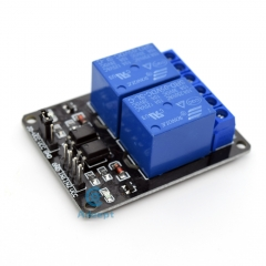 Adeept 5V 2-Channel Relay Module with Optocoupler for Arduino Raspberry Pi ARM AVR DSP PIC