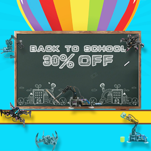 Back-to-school season brings the large discount!