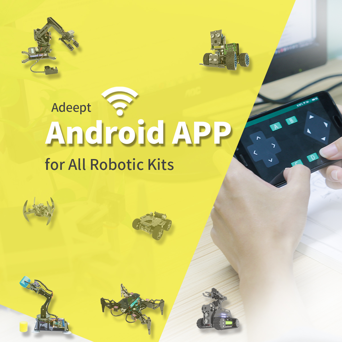Adeept Android App for All Robotic Kits