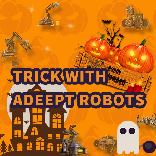 Trick with Adeept Robots!