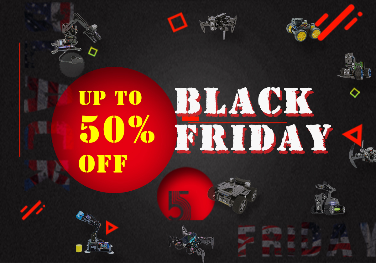 Up to 50% off on Black Friday!