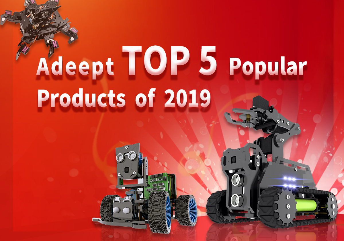 Adeept TOP 5 Popular Products of 2019