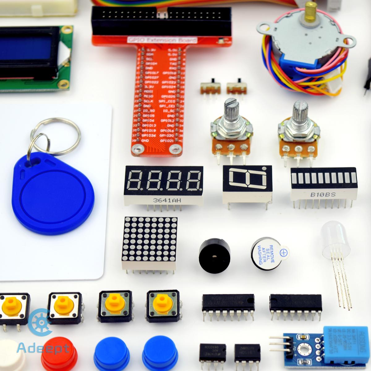 Adeept RFID Starter Kit for Raspberry Pi 3 2 Model B/B+