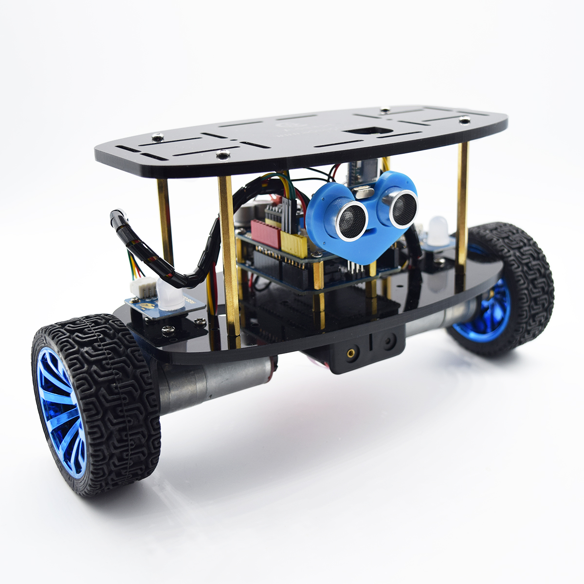 Adeept 2-Wheel Self-Balancing Upright Car Robot Kit for