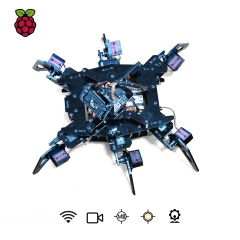 Adeept RaspClaws Hexapod Spider Robot Kit for Raspberry Pi 3 Model B+/B/2B, STEAM Crawling Robot, OpenCV Target Tracking, Video Transmission
