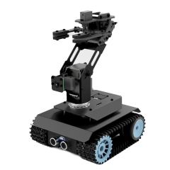 Adeept RaspTank Pro Robot Car Kit, WiFi Wireless Smart Robot for Raspberry Pi 4 3/3B+, 3-DOF Robotic Arm, OpenCV Target Tracking, Video Transmission
